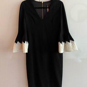Ted Baker 'Rastrel' Flute-Sleeved Dress